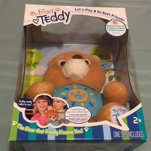 My Friend Teddy interactive Bear knows Your Child